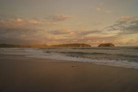 playa samara in the evening